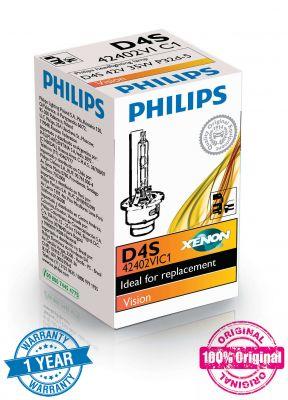 Philips D4S Xenon Vision ксенонова крушка XenEco 42402