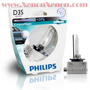 Philips D3S X-treme Vision ксенонова крушка